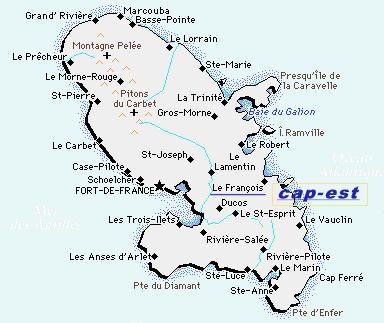 Les Ilots du Cap Est   Location de Bungalows et Villas à la